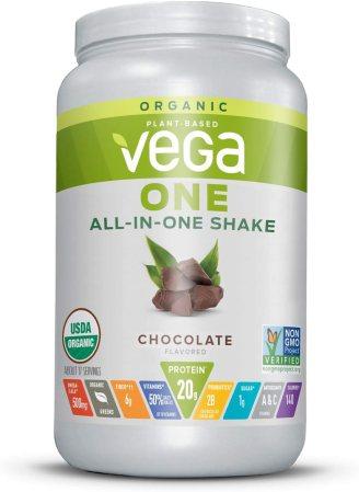 Vega One Organic All-in-One Shake.
