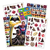 DC Comics Batman v Superman: Dawn of Justice Stickers, 300 Pieces