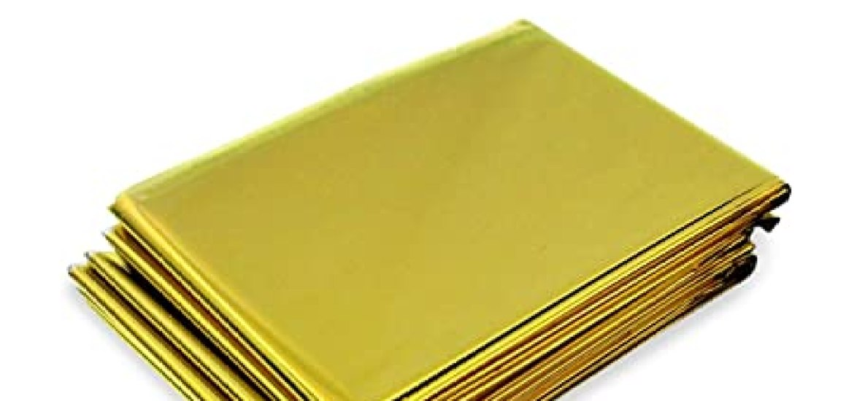 Coperte Termiche Oro Argento.La Top 10 Coperte Termiche Al Miglior Nel 2018