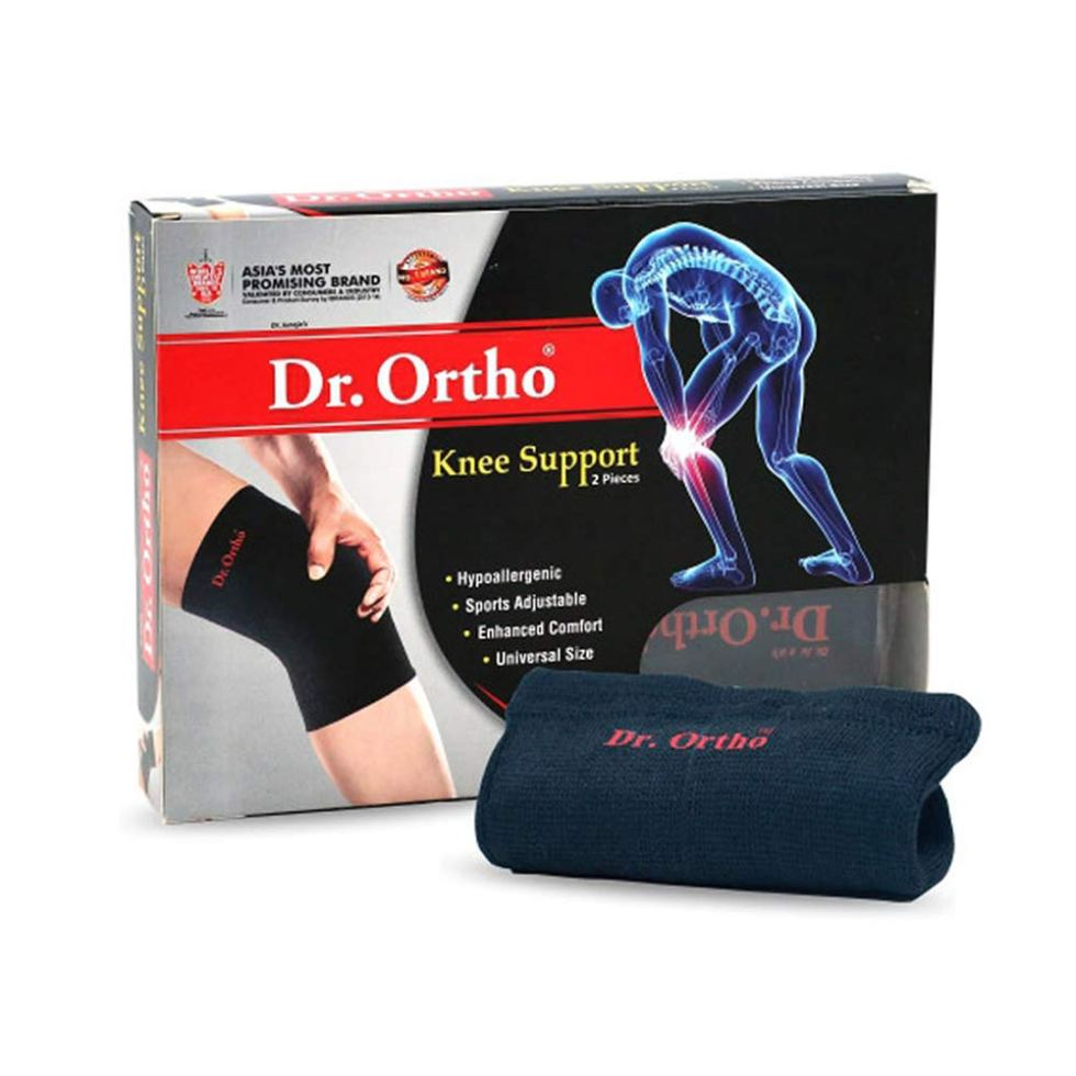 Dr Ortho Knee Cap (Black, Universal Size Knee Cap for Knee Support, Gym) page on Swasthya Sathi health insurance