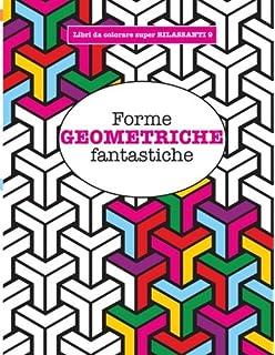 Amazonit Disegni Geometrici Libro Da Colorare Per Adulti