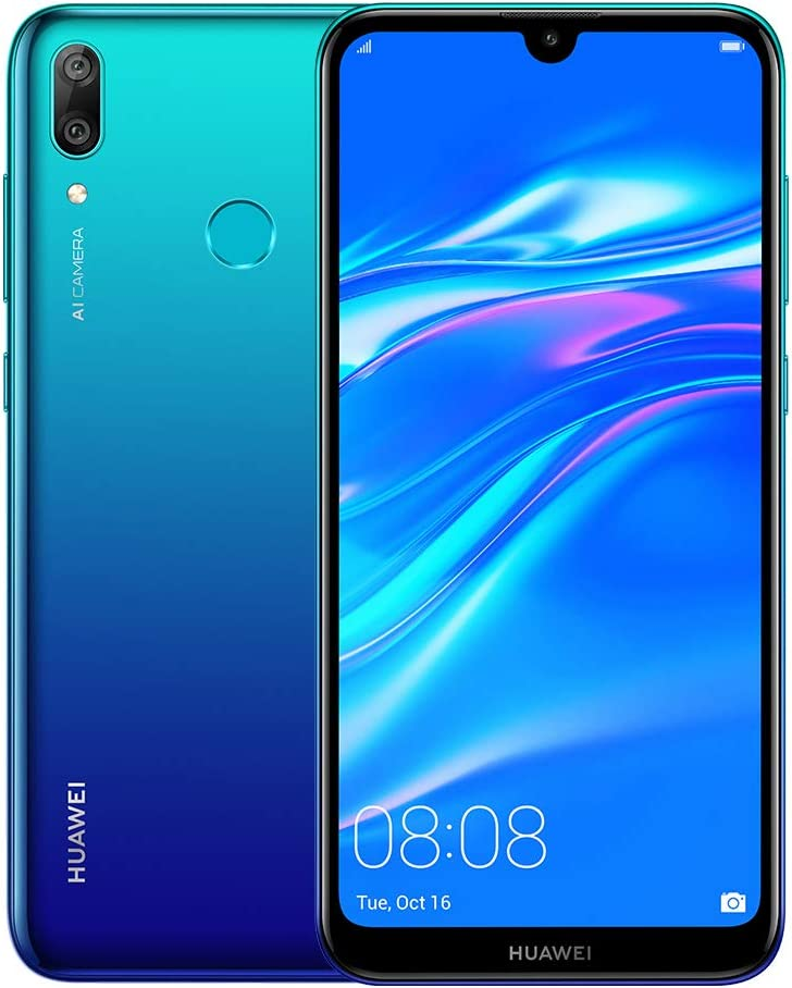 Amazon Com Huawei Y7 2019 32gb 3gb 6 26 Dewdrop Display 4000