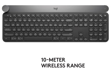 Logitech Craft Advanced Wireless KeyboardBlack Friday Deals