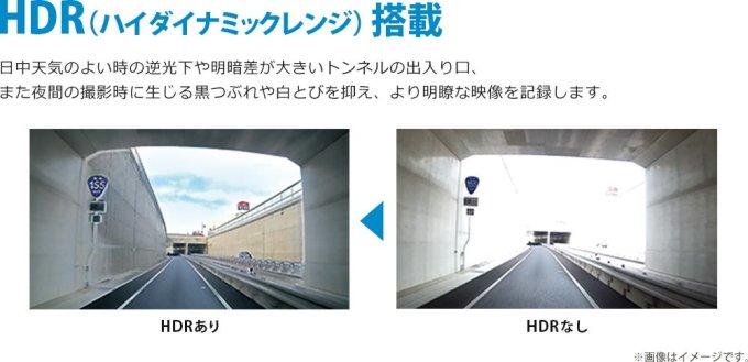ユピテル ドライブレコーダー 300万画素 Full HD/GPS/衝撃センサー/HDR/対角148° DRY-ST3000P