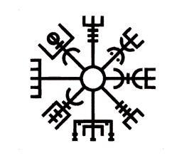 Custom Vegvísir Viking Compass Vinyl Decal - Viking Bumper Sticker -  Perfect Norse Rune Scandinavian Gift- Buy Online in India at desertcart.in.  ProductId : 137865606.