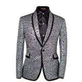 Product review for Cloud Style Men's 2 Piece Suit Single Breasted One-Button Shawl Collar Tuxedo Pants Set