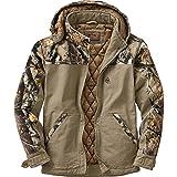 Legendary Whitetails Canvas Cross Trail Workwear Jacket Stone Large