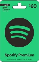 Amazon.com: Spotify Gift Card $60: Gift Cards