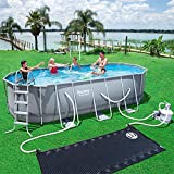 Bestway Power Steel Oval Pool Set