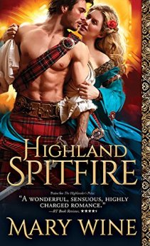 Highland Spitfire (Highland Weddings Book 1) by [Wine, Mary]