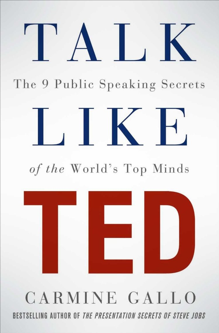 Buy Talk Like TED: The 9 Public Speaking Secrets of the World's  public speaking books
