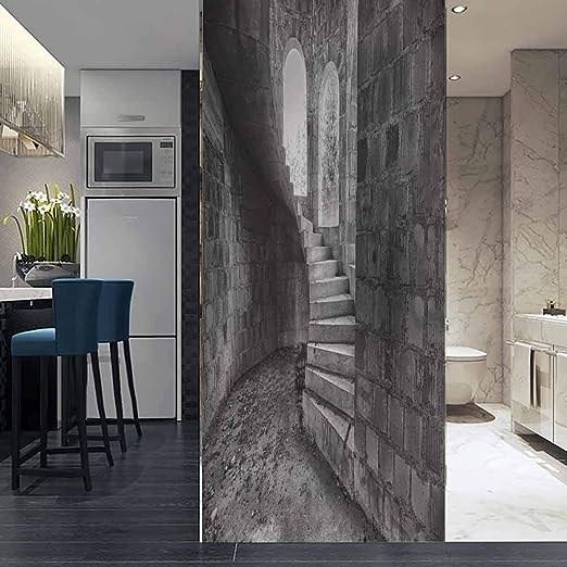 Amazon Com Vilje 3D Window Film No Glue Static Decorative Privacy | Stair Room Window Design | 3D Model | Smart Window Grill | Elegant | Landing | House Beautiful