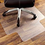 Marvelux 36' x 48' Heavy Duty Polycarbonate (PC) Lipped Chair Mat for Hard Floors | Transparent Hardwood Floor Protector | Shipped Flat | Multiple Sizes