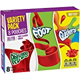 Betty Crocker Fruit Flavored Snacks, Fruit Roll-Ups, Fruit Gushers, Fruit by the Foot Variety Pack,  5.3 Ounce