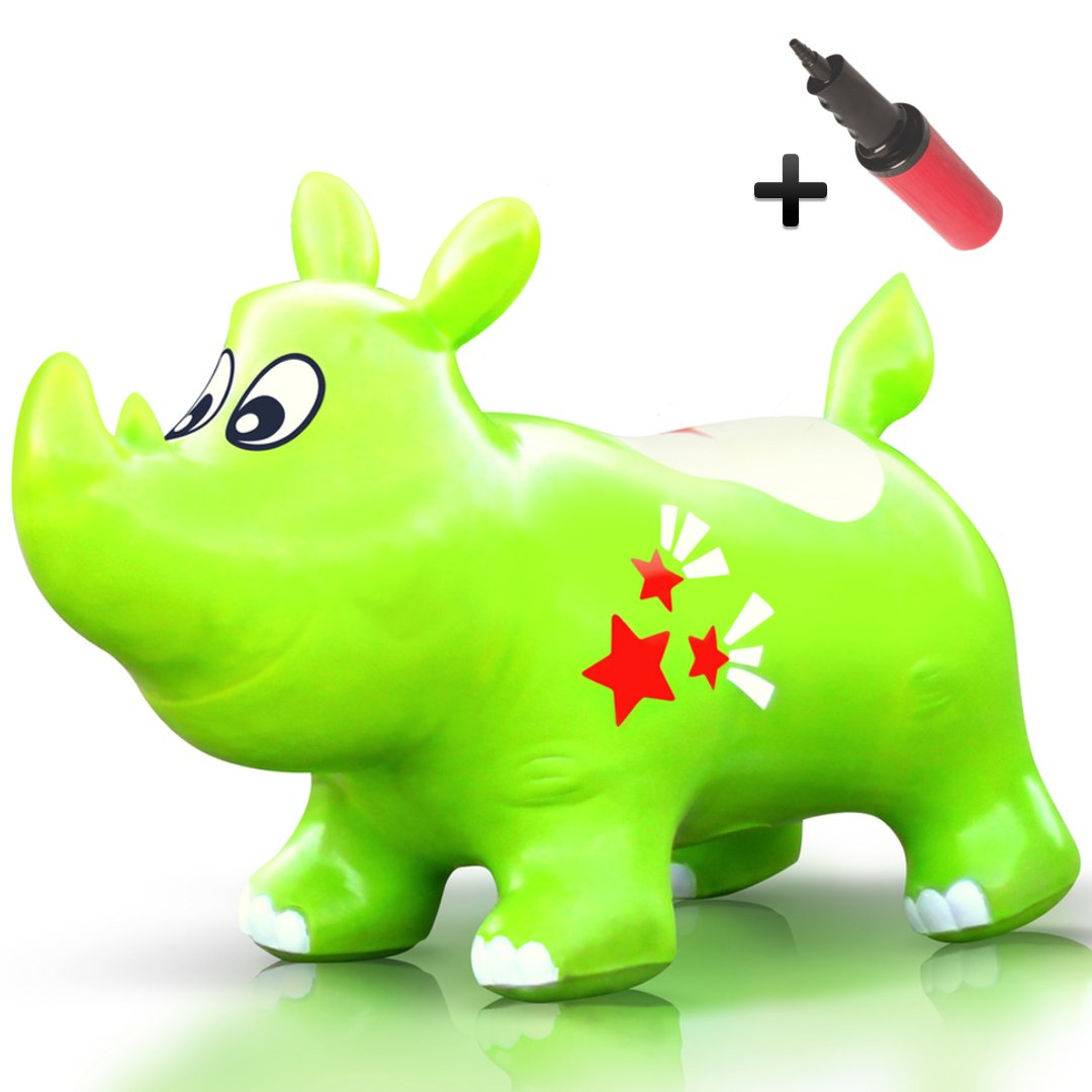 WALIKI TOYS Bouncy Kent the Rhino