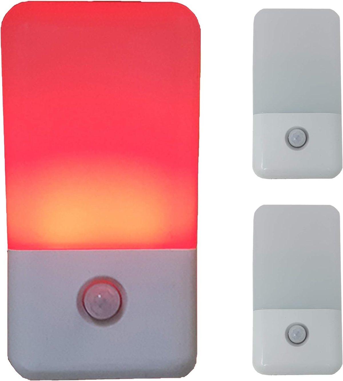 Sleep-Aid Red Night Light