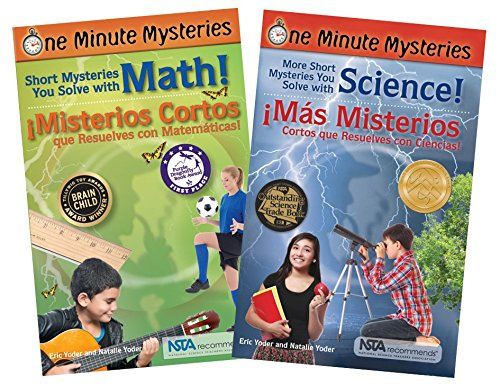 [ByIP8.FREE] Bilingual Science and Math Mysteries Book Set (One Minute Mysteries) by Eric Yoder, Natalie Yoder [P.P.T]