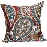 Brentwood Originals 8851 Succulent 18 Inch Decorative Pillow, Blossom
