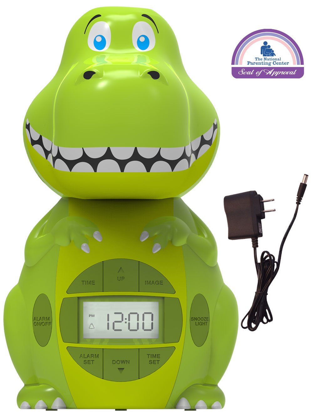 Big Red Rooster BRRC103AC Dinosaur Projection Alarm Clock