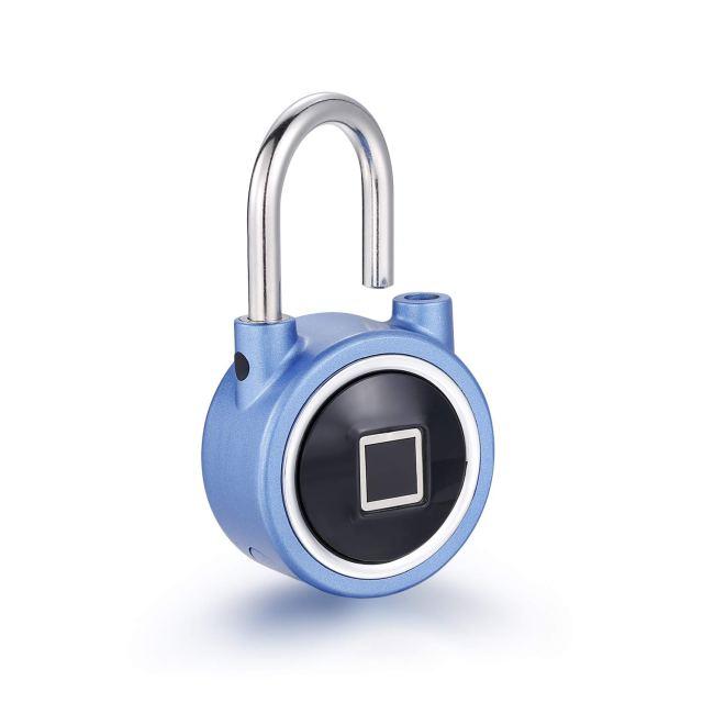 Waterproof Bluetooth Metal Fingerprint Padlock