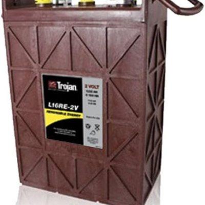 Trojan L16RE-2V Renewable Energy 2V Deep Cycle Battery