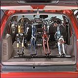 Saris Unique Mount Triple Track Fork Mount Bike Racks for Truck, Vans or Indoor Storage (47-Inch)