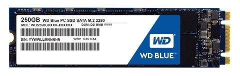 WD SSD 内蔵SSD M.2 2280 250GB WD Blue WDS250G1B0B/SATA3.0/3年保証