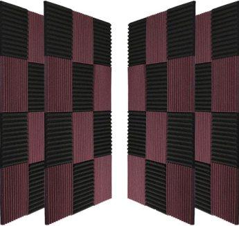 Black&Coffee Acoustic Panels Studio Foam