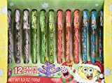 Nickelodeon Spongebob Squarepants 12 Candy Canes