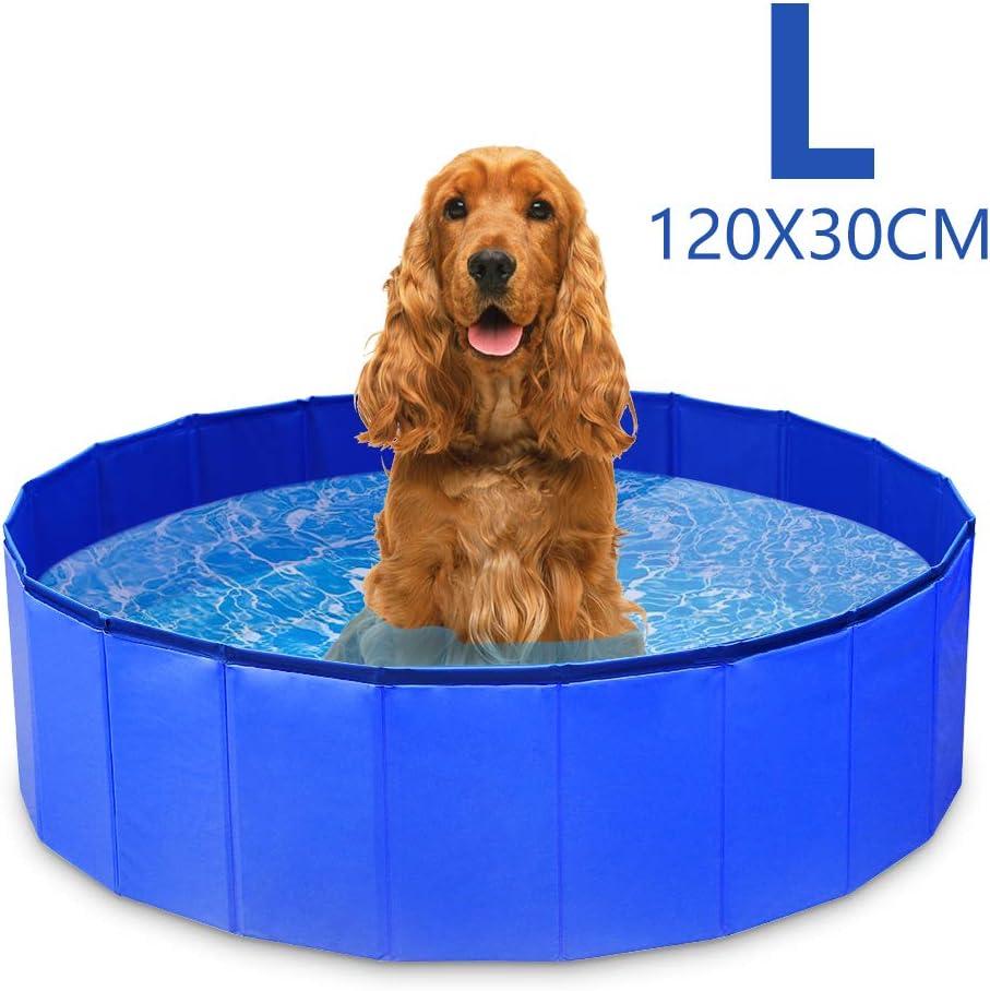 Piscina para Perros Mascotas Plegable Bañera
