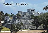 Tulum, Mexico, Mayan City, Temple of the God of Wind, Maya, Yucatan, Souvenir, Travel, Locker Magnet 2 x 3 Fridge Magnet