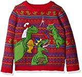 Product review for Blizzard Bay Boys' Three Wise Raptors Xmas Sweater
