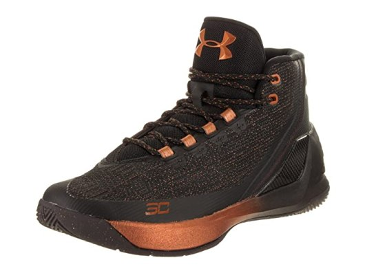 Under Armour Men's Curry 3 ASW Blk/Slv/Cop Basketball Shoe 9.5 Men US