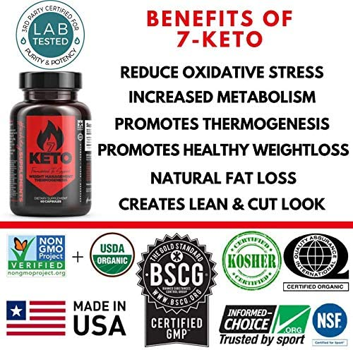 7 Keto Diet Pills - Weight Management Metabolism Booster - Natural Fat Loss | Maximize Results of a Proper Diet and Exercise - 30 Day Supply (60 Capsules) - Hashtag Supplements 8