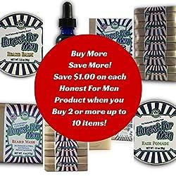 Maple Hill Naturals: Honest for Men Original Scent Beard Wash Shampoo and Conditioner  Image 4