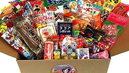 Japanese Snack Assortment 35 Pcs Of 27 Types Full