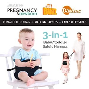 Travel High Chair Toddler Safety Harness