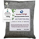 Bamboo Charcoal Air Purifying Bag 1000g, Natural Air Fresheners & Odor Eliminators For Home, Pets, Car, And Closet Deodorizer