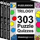 Puzzlebook Trilogy: 303 Puzzle Quizzes (color and interactive!)