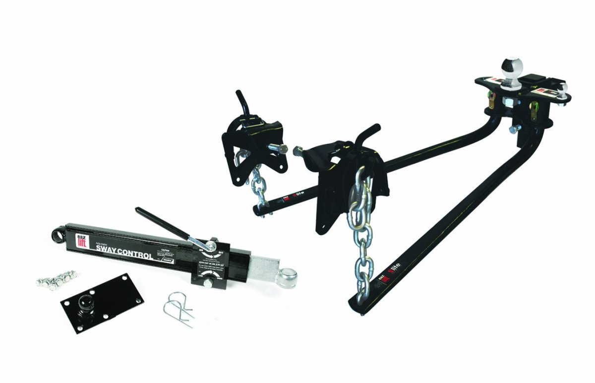 Best Weight Distribution Hitches Reviews EAZ LIFT 48058 1000 lbs Elite Kit, Includes Distribution