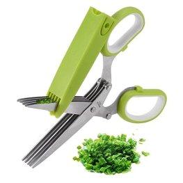 Kitchen gadget. Stainless Steel Herb Scissors
