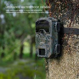 APEMAN-Trail-Camera-20MP-1080P-Wildlife-Camera-Night-Detection-Game-Camera-with-No-Glow-940nm-IR-LEDs-Time-Lapse-Timer-IP66-Waterproof-Design