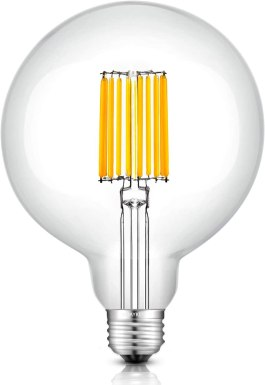 OMAYKEY 12W Dimmable Large LED Globe Bulb