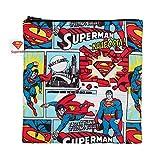 Bumkins DC Comics Reusable Snack Bag Large, Superman