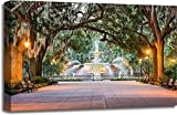 Forsyth Park Gallery Wrapped Canvas Art (20 in. x 30 in.)