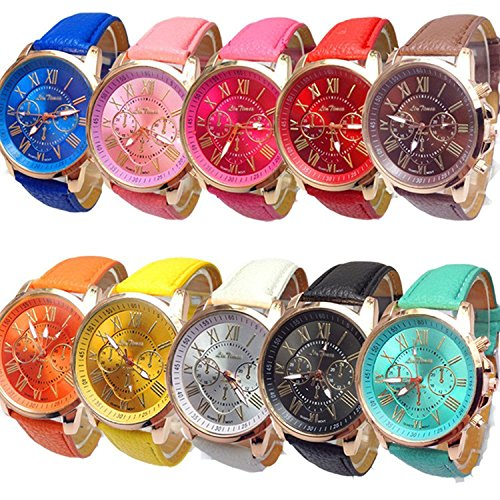 61SNDW2Q47L Case material: alloy; Band material: quality PU leather Watch case diameter(cm): approx 3.9; Band length(cm):approx 23 ;Band With(cm):approx 2 Movement: quartz; Display: analog.