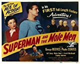 Superman and the Mole Men POSTER Movie (1951) Style A 11 x 14 Inches - 28cm x 36cm (George Reeves)(Phyllis Coates)(Jeff Corey)