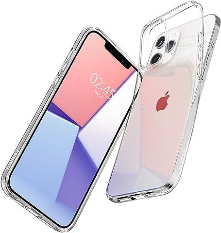【Spigen】 iPhone 12 ケース/iPhone 12 Pro ケース 6.1インチ 対応 TPU 全面クリア 超薄型 超軽量 アイフォン12 ケース アイフォン12プロケース シュピゲンリキッド・クリスタル (クリスタル ・クリア)