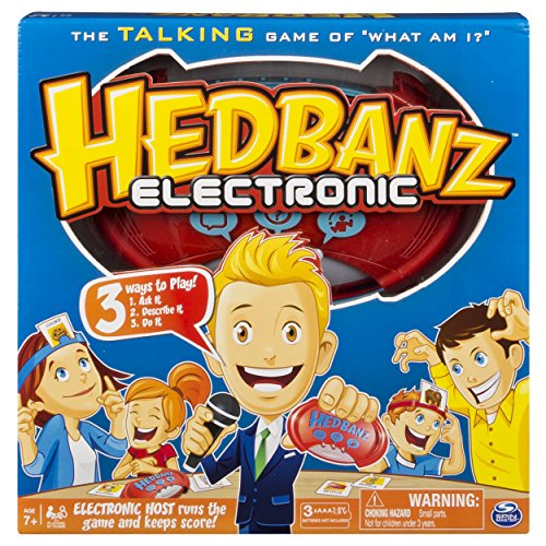 Hedbanz Electronic Card Game  Image of 61SdshTioZL