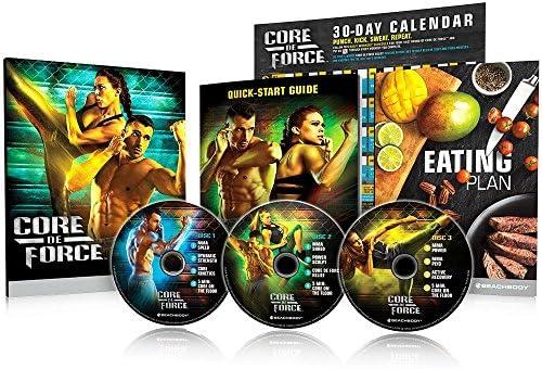 Beachbody CORE DE FORCE Base Kit DVD workout program - MMA inspired - created by 1
